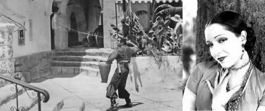Douglas Fairbanks in movie The Gaucho