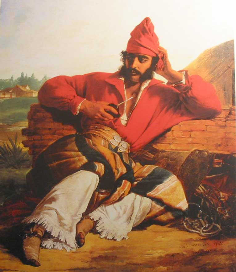 historic picture gaucho Argentina