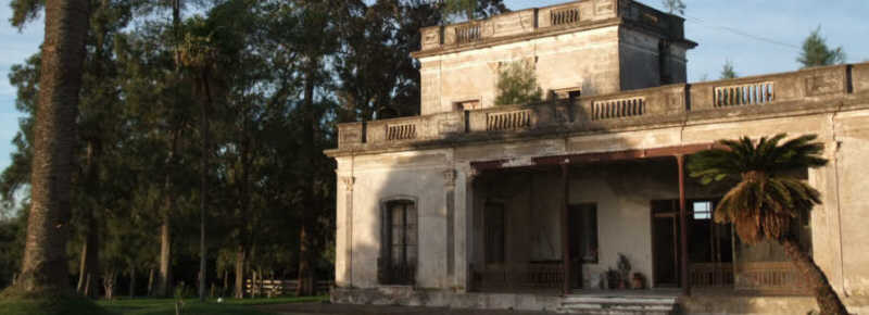 abandoned estancia Uruguay