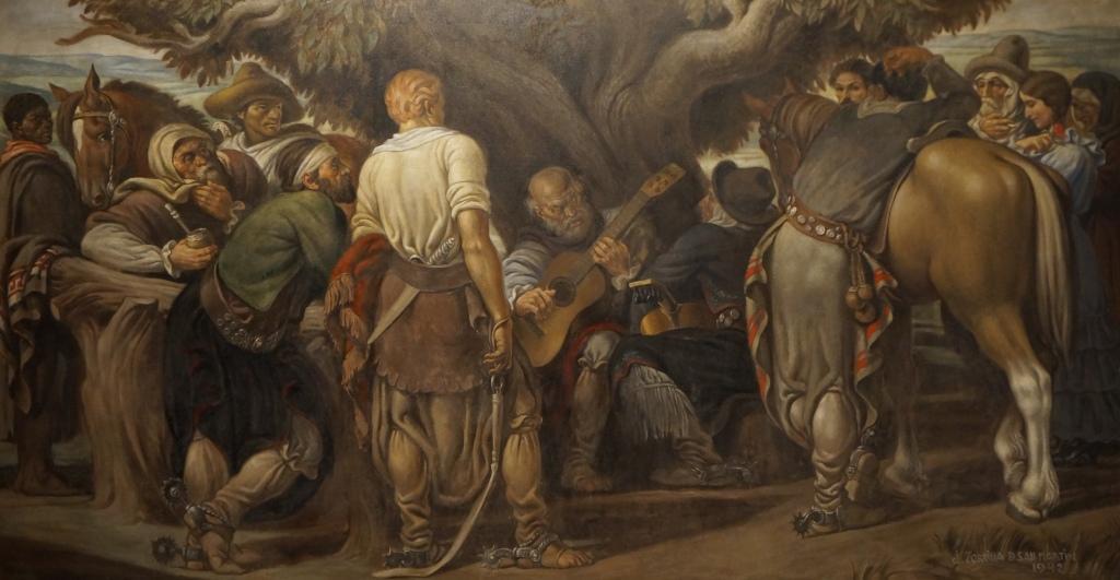 painting / oleo Zorilla de San Martin