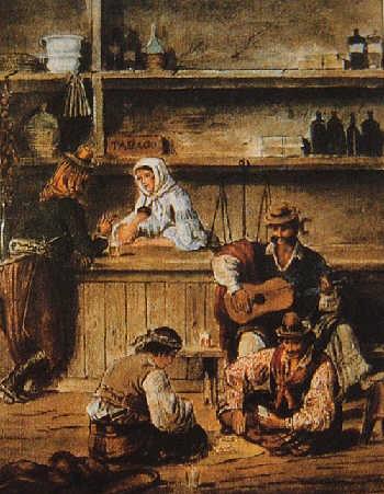 painting pulperia argentina