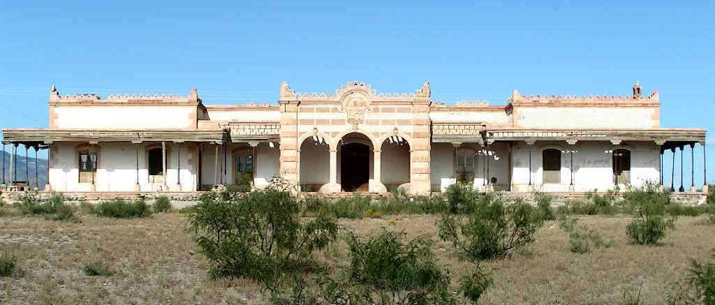historic hacienda San Diego in Chihuahua
